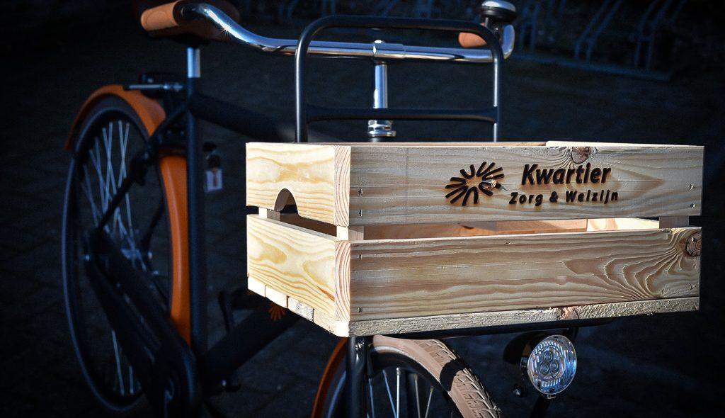 Kwartier Zorg & Welzijn zet medewerkers op de fiets