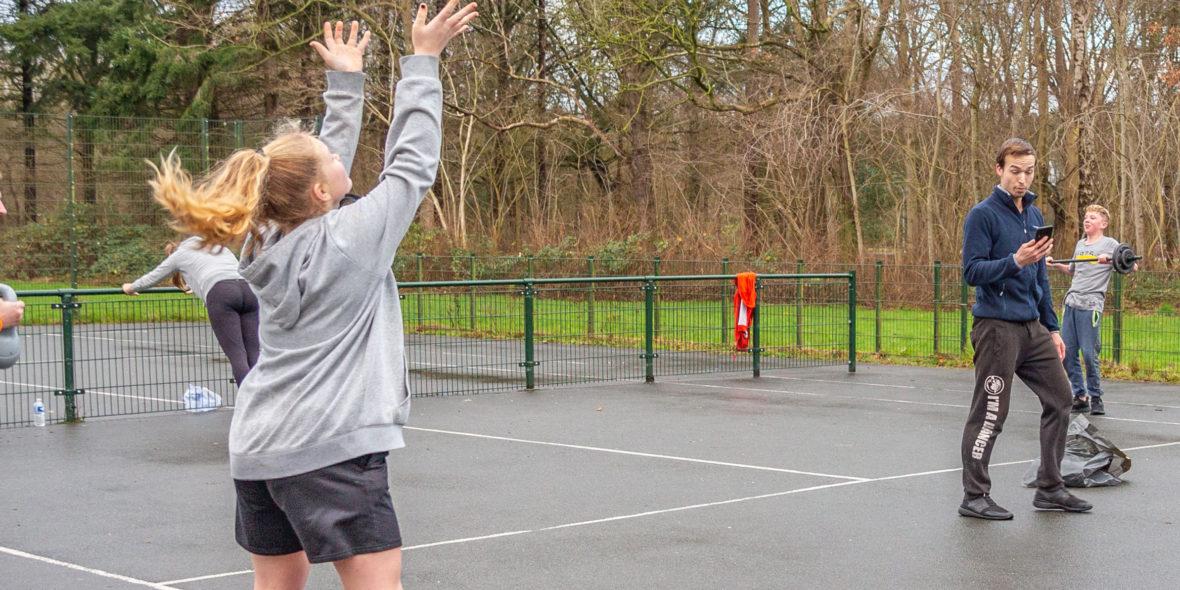 Sporten met jongeren